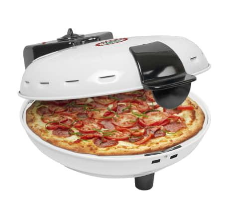 acheter four pizza blanc avec pierre 1000 w bestron dld9036 pas cher. Black Bedroom Furniture Sets. Home Design Ideas