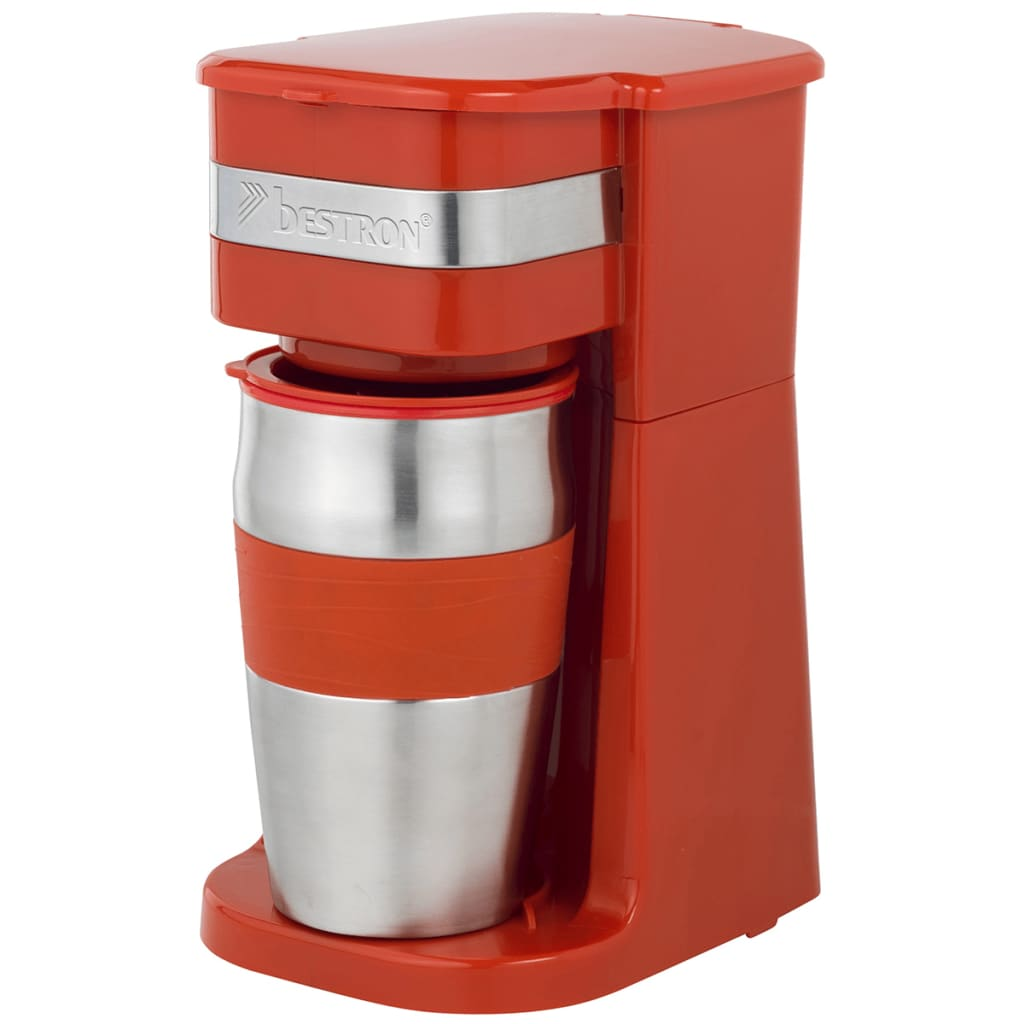 Afbeelding van Bestron Koffiezetapparaat 750 W 420 ml rood ACM111R