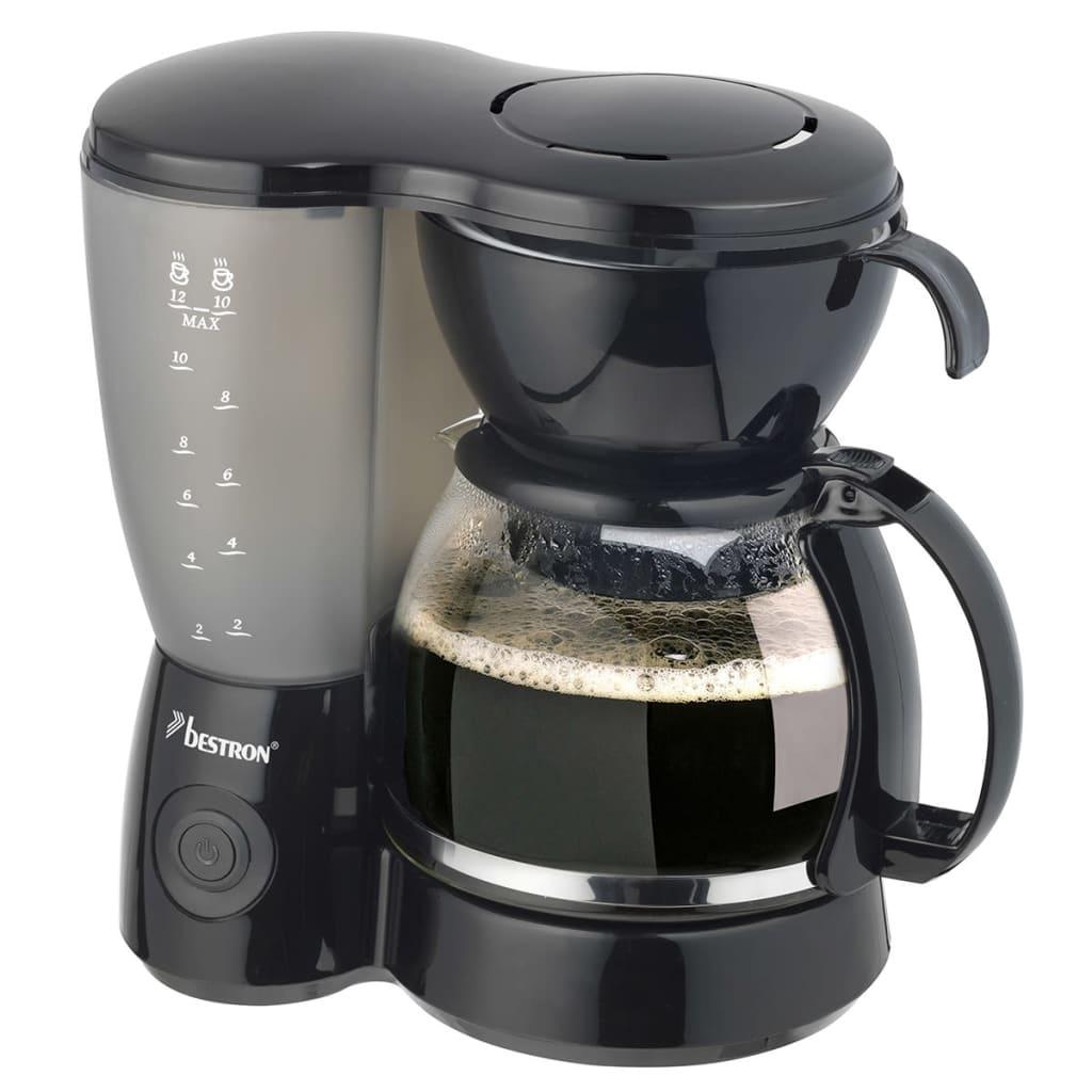 Afbeelding van Bestron Koffiezetapparaat zwart 800 W ACM6081Z