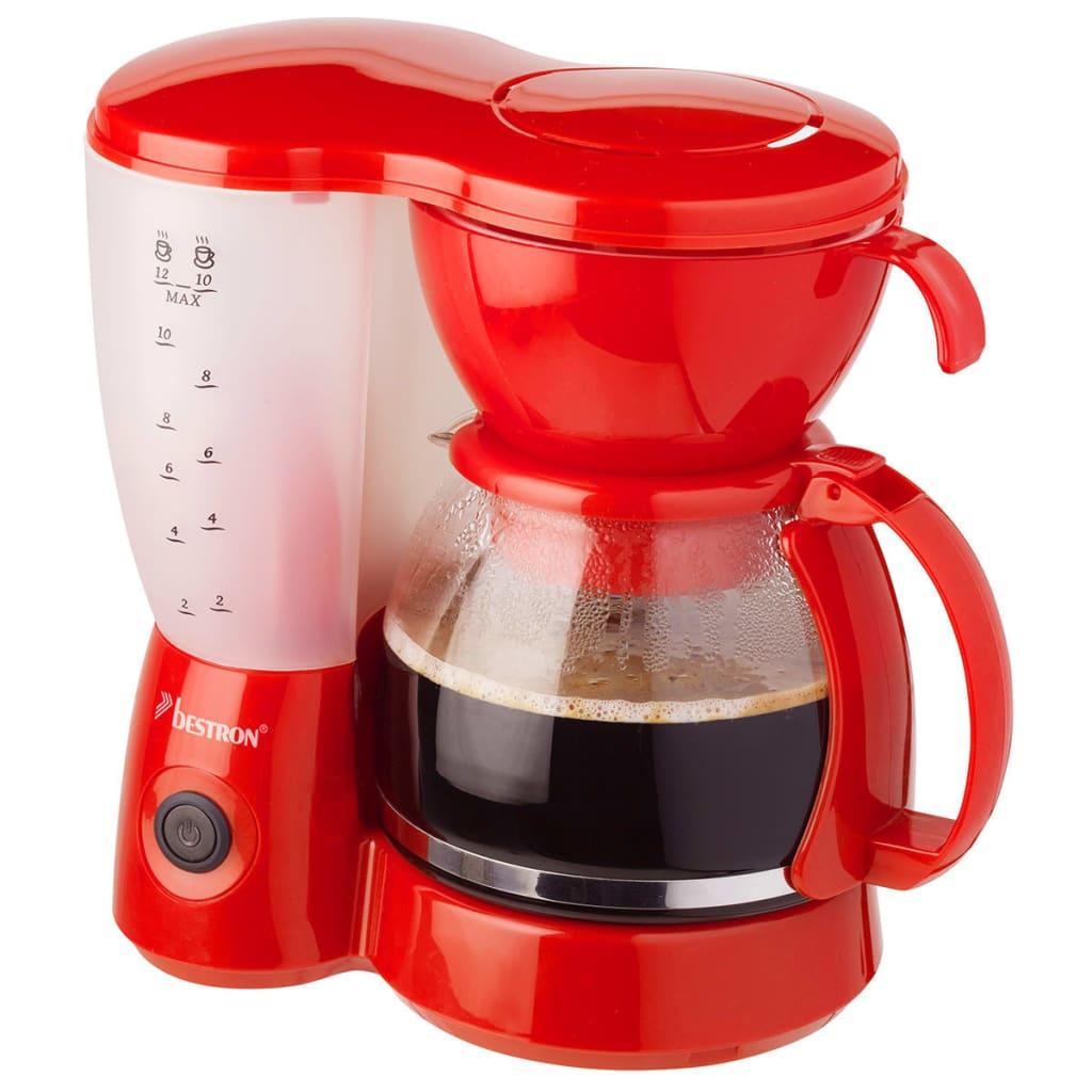 Afbeelding van Bestron Koffiezetapparaat rood 800 W ACM6081R