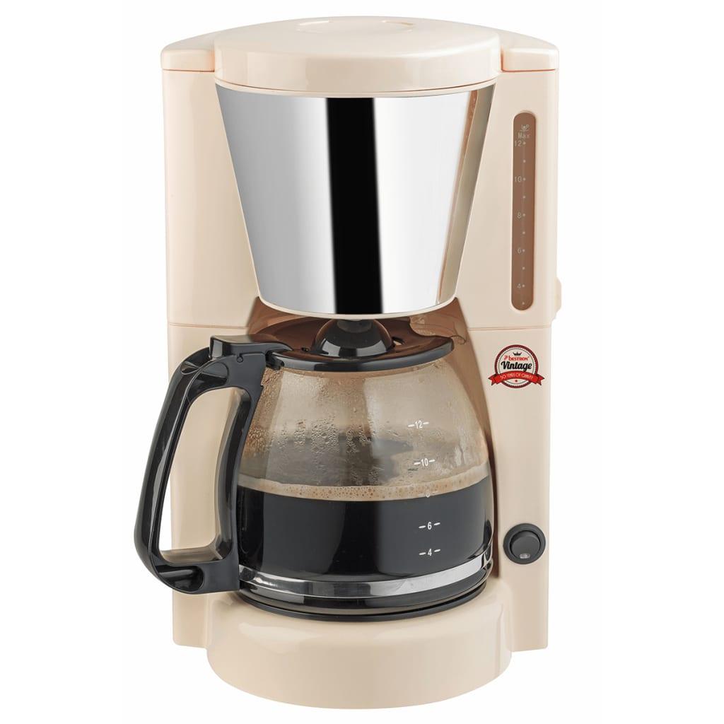 Afbeelding van Bestron koffiezetapparaat 12 koppen 1000 W ivoor ACM100RE