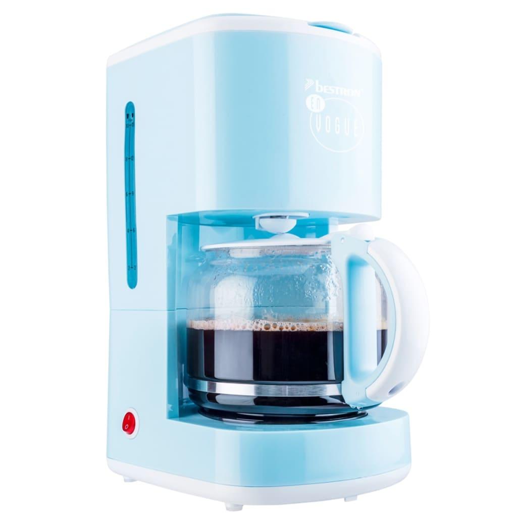 Afbeelding van Bestron Koffiezetapparaat 1080 W blauw ACM300EVB