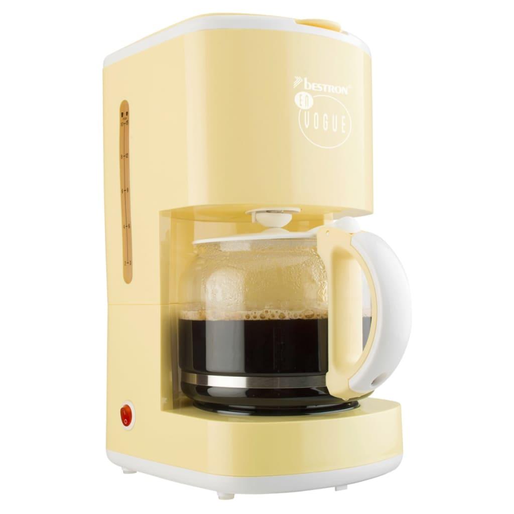 Afbeelding van Bestron Koffiezetapparaat 1080 W vanille ACM300EVV