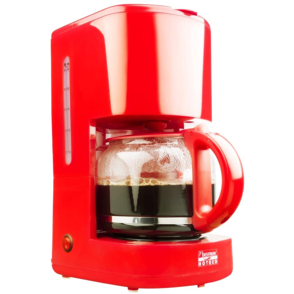Afbeelding van Bestron Koffiezetapparaat Hot Red 1080 W ACM300HR
