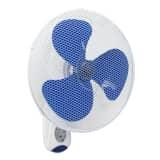 Bestron Nástěnný ventilátor s dálkovým ovládáním 40 cm 45 W bílý AWF40REM
