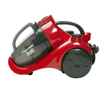 acheter bestron aspirateur sans sac puro plus rouge et noir abl830rb pas cher. Black Bedroom Furniture Sets. Home Design Ideas
