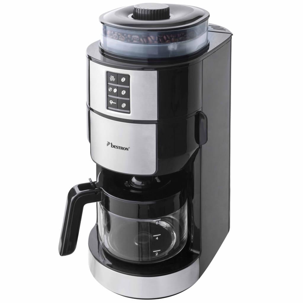 Afbeelding van Bestron Koffiezetapparaat met molen 820 W roestvrij staal ACM1100G
