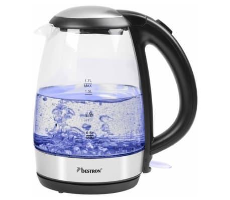 Toppen Handla Bestron Digital vattenkokare AWK780G blå 2200 W 1,7 L glas HY-34
