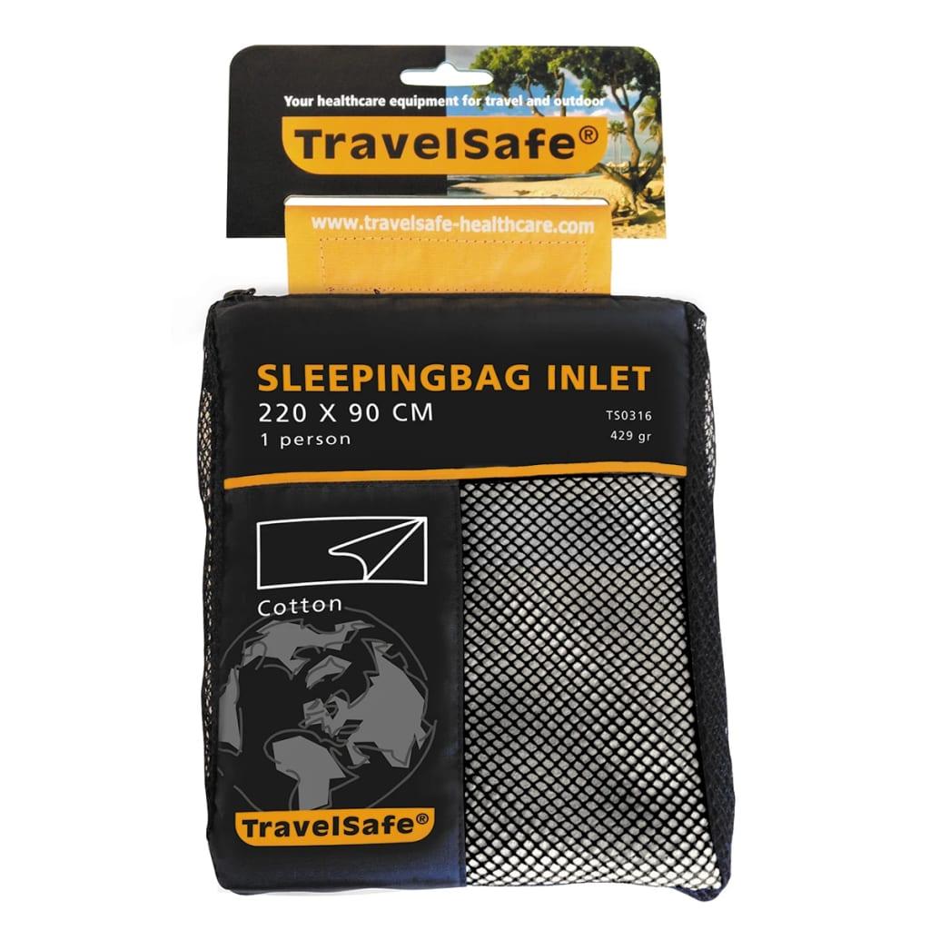 Travelsafe Soveposelaken konvolutt bomull TS0316