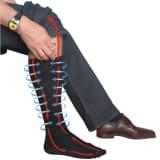 Chaussettes de compression de voyage Travelsafe TS0370S 35-38