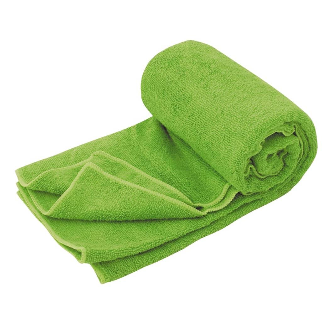 Image of Travelsafe TS3101 Asciugamano di spugna in microfibra L verde