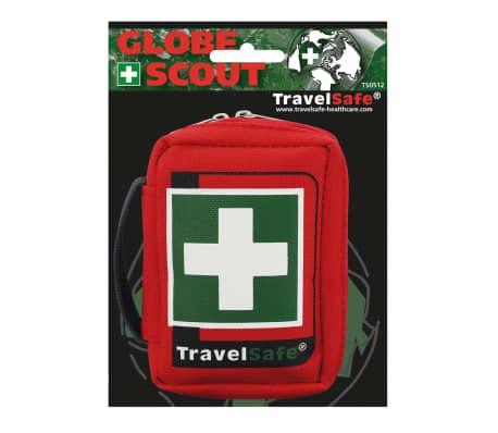 Travelsafe Trousse de premiers soins 17 pcs Globe Scout Rouge[4/7]