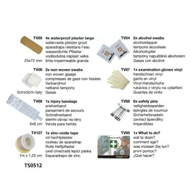 Travelsafe Trousse de premiers soins 17 pcs Globe Scout Rouge[5/7]