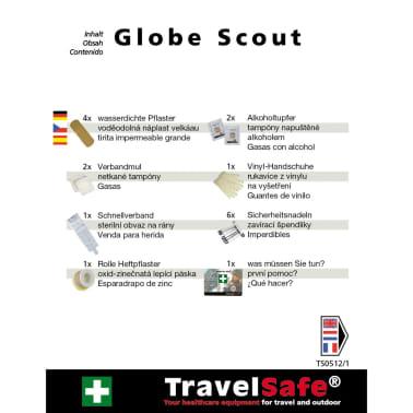 Travelsafe Trousse de premiers soins 17 pcs Globe Scout Rouge[6/7]