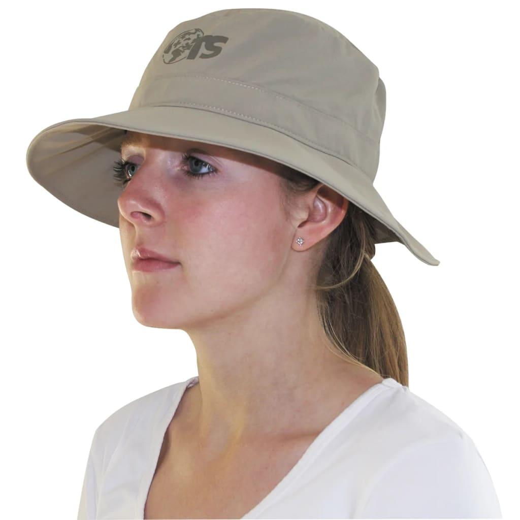 Travelsafe Pălărie de soare protecție contra țânțarilor bej UPF 50+ imagine vidaxl.ro
