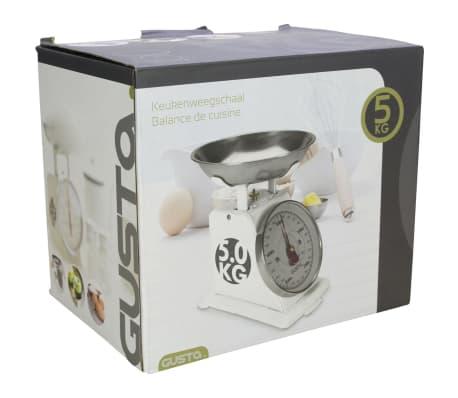 Acheter gusta balance de cuisine 5 kg blanc 01162010 pas cher - Balance de cuisine 10 kg ...