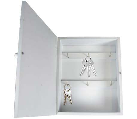 gusta schl sselkasten let 39 s stay home holz weiss 04310480 g nstig kaufen. Black Bedroom Furniture Sets. Home Design Ideas