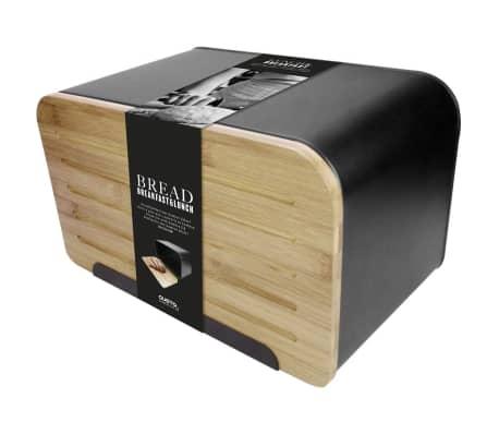 Gusta Duoninė su bambukiniu dangčiu Retro, juoda, 01147950[1/2]