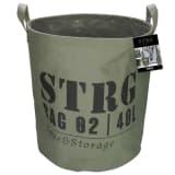 Gusta opbevaringskurv 33 x 37 cm militærgrøn 04126110