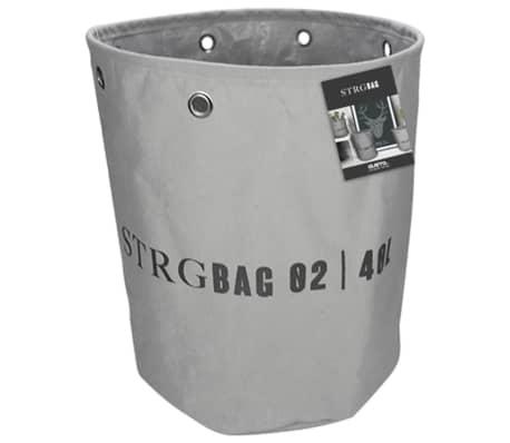 Gusta Cesta de almacenamiento 33x37 cm gris oscuro 04126140