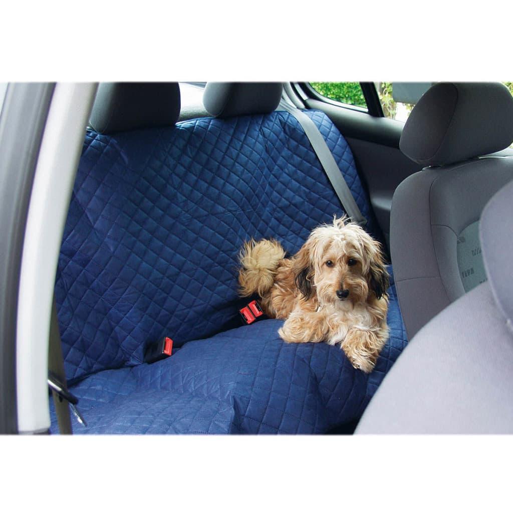Beeztees bilsædetæppe til kæledyr Deluxe 140x120 cm blå 705208
