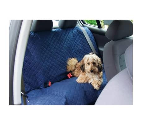 Beeztees Kocyk samochodowy dla psa Deluxe, 140 x 120 cm, niebieski