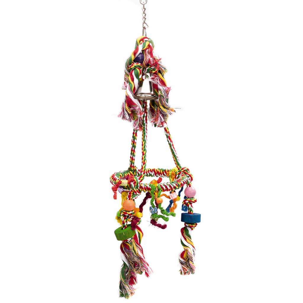 Afbeelding van Beeztees Carousel vogelschommel 20x67 cm katoen 5168