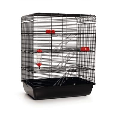 Beeztees Klatka Dla Szczura Remy Czarna 58x38x71 Cm 266815