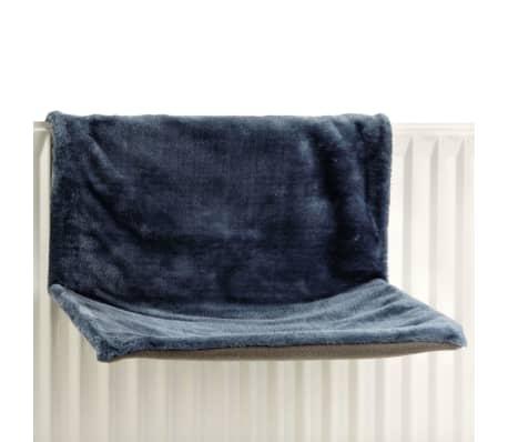 Beeztees Hamac de radiateur SLEEPY Bleu