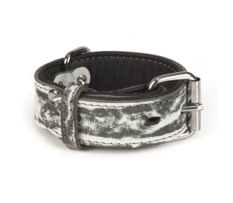 Beeztees Collar de perro Safari cuero 35 mm 21-30 cm 745905[1/3]