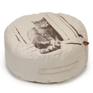 acheter designed by lotte pouf pour chats minoes 50 x 20 cm beige pas cher. Black Bedroom Furniture Sets. Home Design Ideas