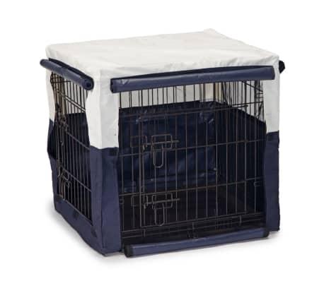 Beeztees Housse de cage pour chiens Benco 63 x 55 x 61 cm Bleu 715955[1/2]