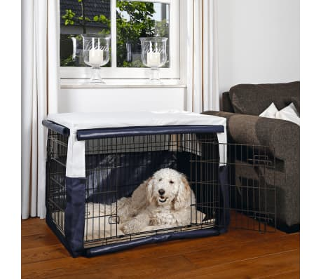 Beeztees Abdeckung für Hundekäfig Benco 89 x 60 x 66 cm Blau 715957[2/2]