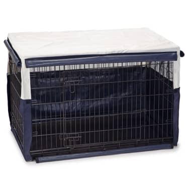 Beeztees Pokrowiec na klatkę dla psa Benco, 109x69x75 cm, niebieski[1/2]