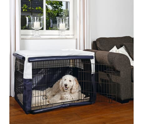 Beeztees Pokrowiec na klatkę dla psa Benco, 109x69x75 cm, niebieski[2/2]