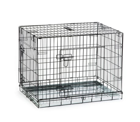 Beeztees Cage pour chiens 78 x 55 x 61 cm Noir[1/3]