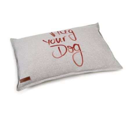 Beeztees Coussin pour chiens Hug Your Dog Gris 100 x 70 x 20 cm[2/2]