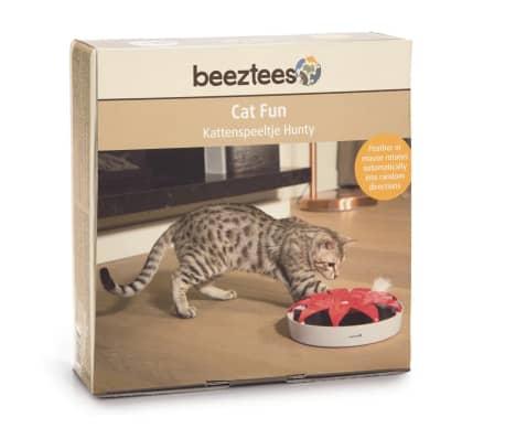 Beeztees Kattenspeelgoed Hunty 24 5x5 cm roze en wit 440636
