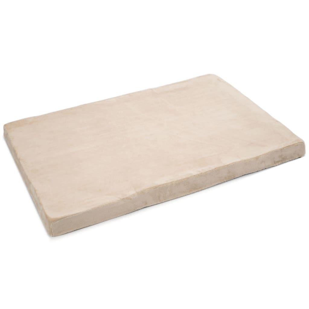 Afbeelding van Beeztees Hondenbed beige 120x80x8 cm traagschuim 707039