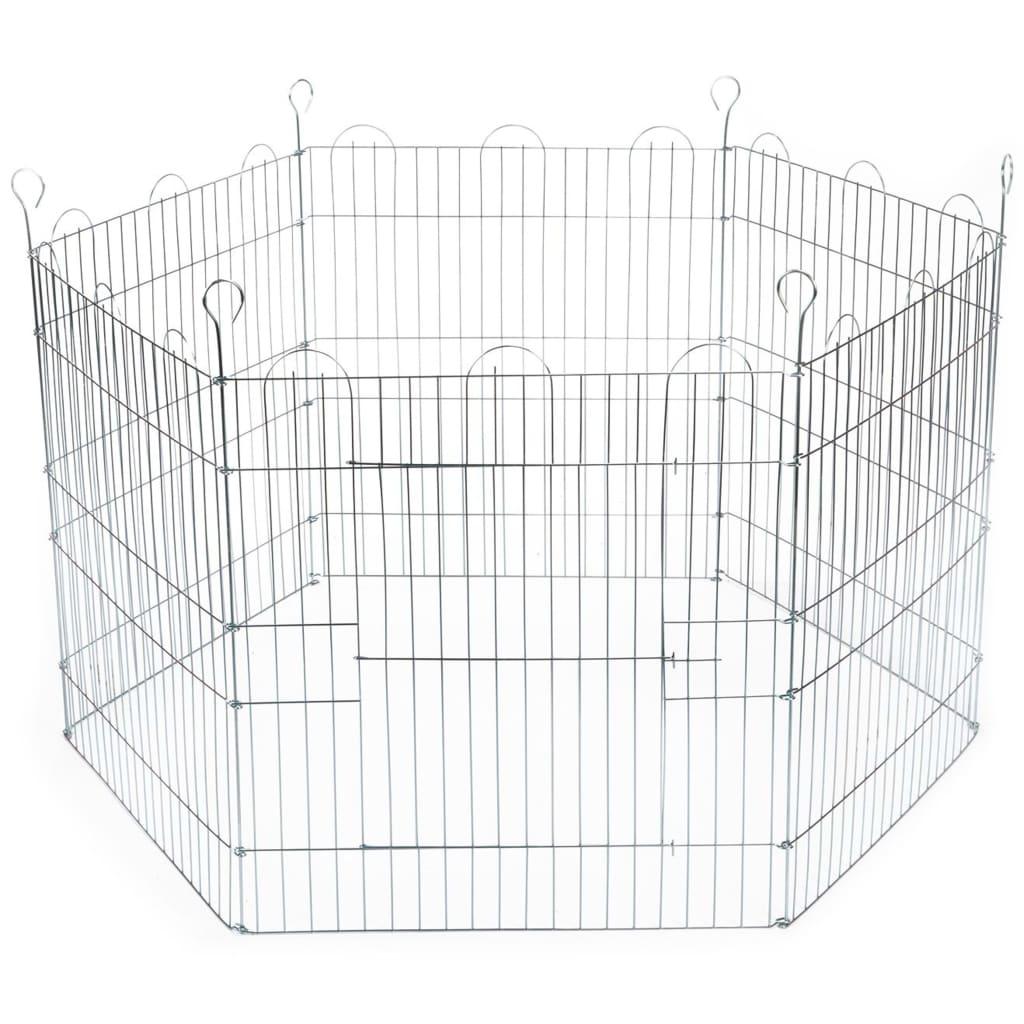 Beeztees kaninindhegning 6 paneler 66,5x58 cm forzinket