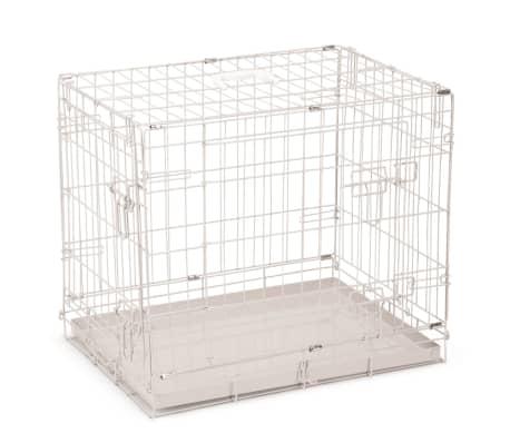 Beeztees Hundekäfig 62×44×49 cm Grau[1/4]