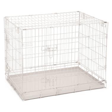 Beeztees Caisse pour chiens 78 x 55 x 61 cm Gris[1/2]