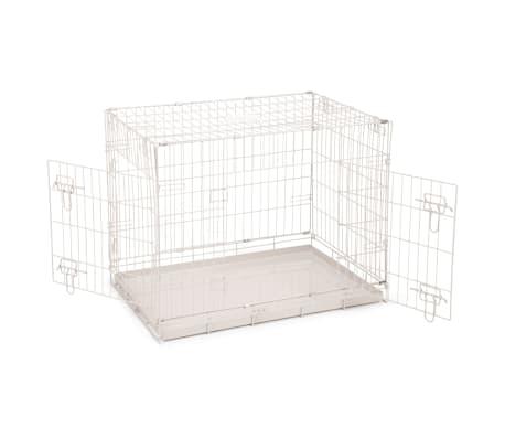 Beeztees Caisse pour chiens 78 x 55 x 61 cm Gris[2/2]