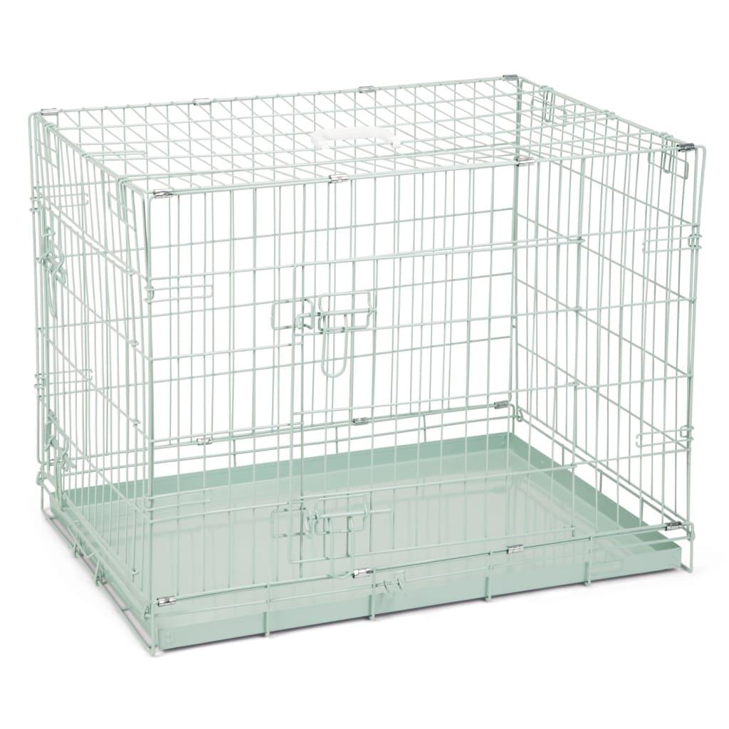 Beeztees Cușcă de câini, verde, 78 x 55 x 61 cm poza vidaxl.ro