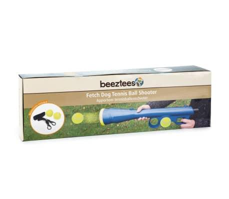 Beeztees Ballkanone Hundespielzeug mit 2 Bällen Blau 625070[2/2]