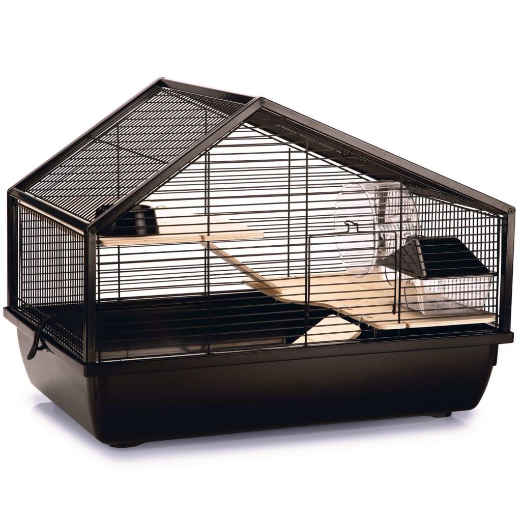 Beeztees Cușcă pentru rozătoare Boas, negru, 58 x 38 x 43,5 cm, metal poza 2021 Beeztees