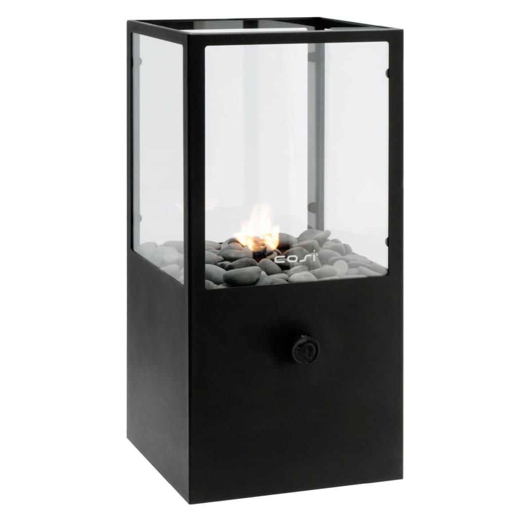 Afbeelding van Cosi gaslantaarn 18x18 cm zwart