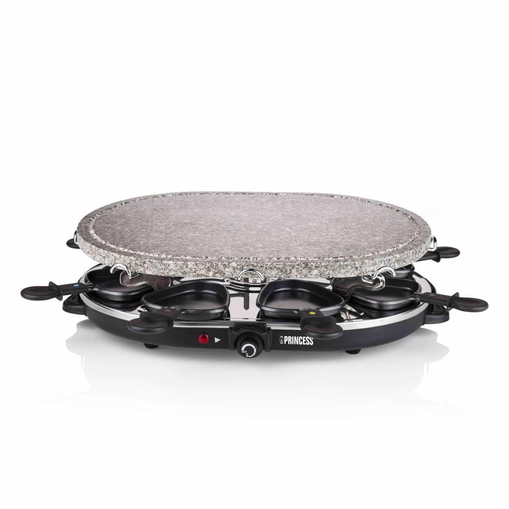 Princess Ovaal gourmetstel steengrill voor 8 personen 1200 W 162720 Nu voor 56.49 euro!