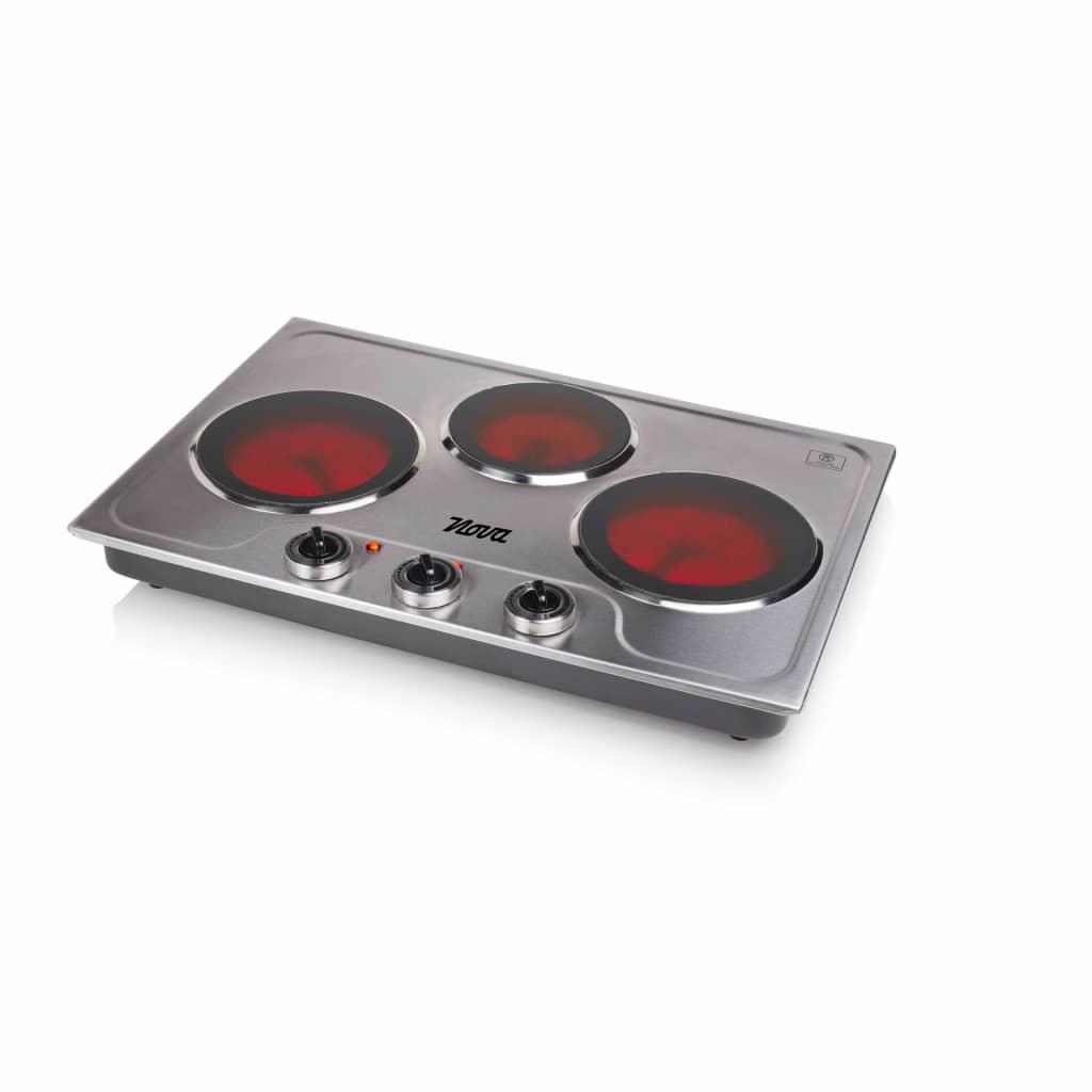 Afbeelding van Nova Keramische kookplaat met 3 branders 3300 W 300300