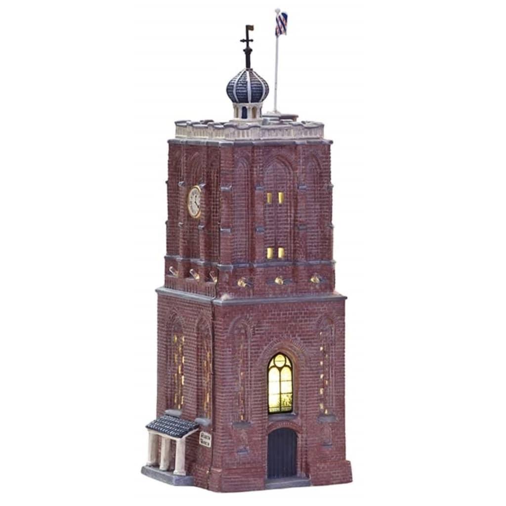 Workum   de toren. unieke serie van verlichte friese huisjes. uit onze collectie kersthuisjes. van het merk ...